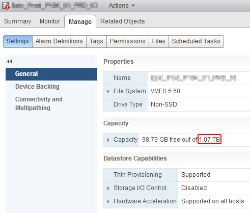 Removing Extents on VMware Spanned Datastores